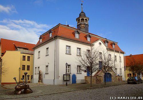 Das Rathaus in Ermsleben