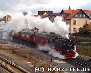 Die Harzquerbahn in Wernigerode