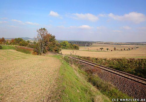 Alte Gleisanlage der H.B.E. bei Timmenrode