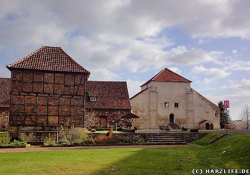 Konradsburg - Klostergelände