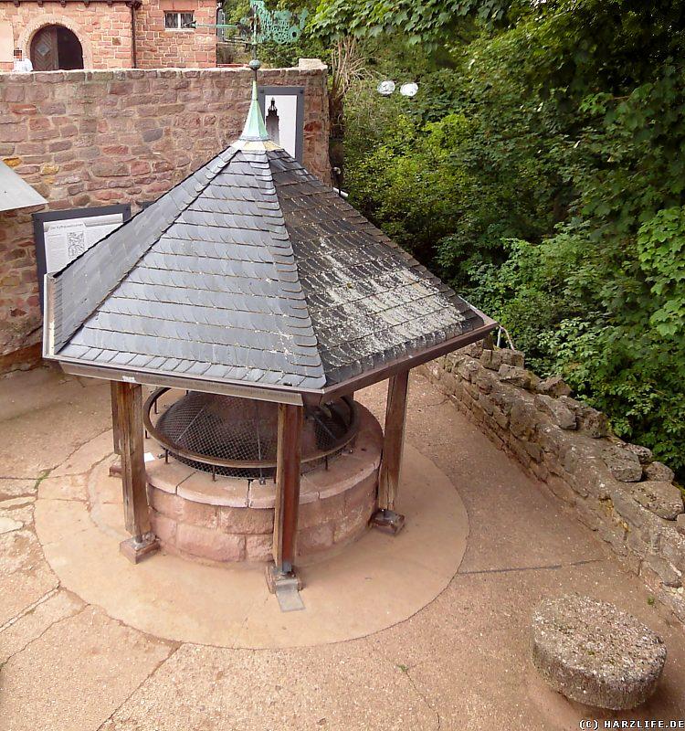 Der Burgbrunnen auf der Oberburg