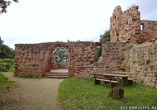 Ruinen der Unterburg