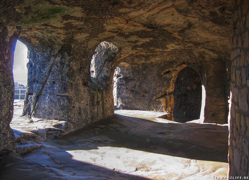 Die Kapelle der Burgruine Regenstein