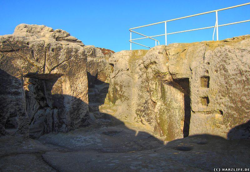 Kellerraum der Oberburg