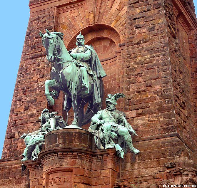 Kyffhäuserdenkmal - Reiterstandbild Kaiser Wilhelm I.