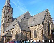 Die Aegidikirche in Quedlinburg