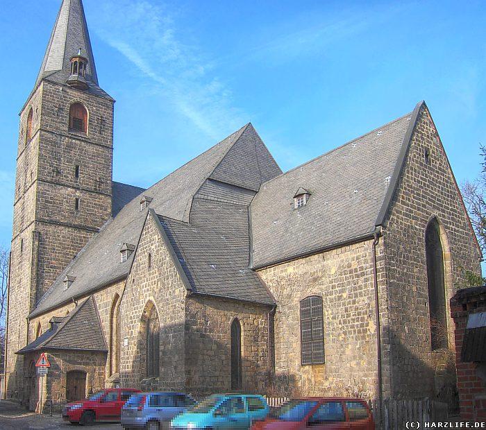 Quedlinburg - Die Aegidii-Kirche