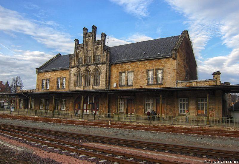 Quedlinburg - Der Bahnhof