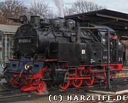 Dampflok Selketalbahn