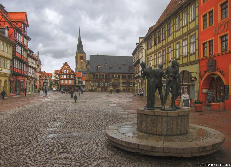 Quedlinburg - Der Marktplatz