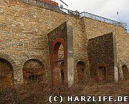 Münzenberg Stützmauer