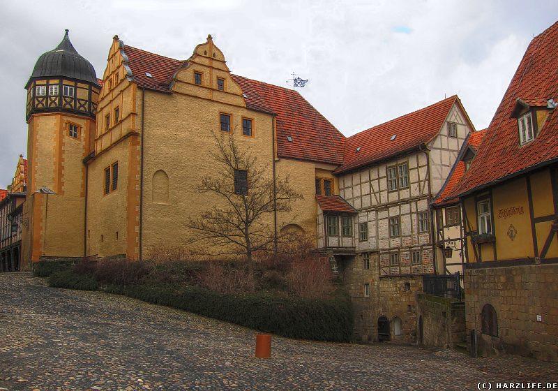 Quedlinburg - Der Schloßberg mit Residenz- und Wirtschaftsgebäuden