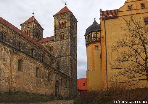 Schloß und Stiftskirche St. Servatii