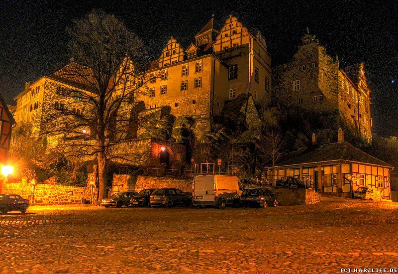 Quedlinburg - Der nächtliche Schloßberg