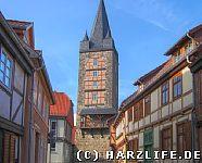 Der Schreckensturm in Quedlinburg