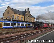 Selketalbahn und HEX in Quedlinburg