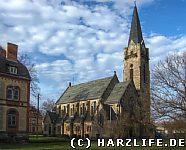 Die St-Johannis-Kirche in Quedlinburg