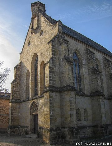 Die St.-Mathilden-Kirche in Quedlinburg