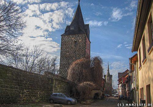 Die Quedlinburger Stadtmauer