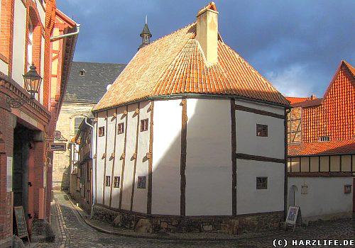 Der Ständerbau in Quedlinburg, das wahrscheinlich älteste Fachwerkhaus Deutschlands