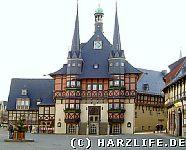 Das Rathaus in Wernigerode