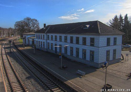Bahnhofsgebäude in Vienenburg