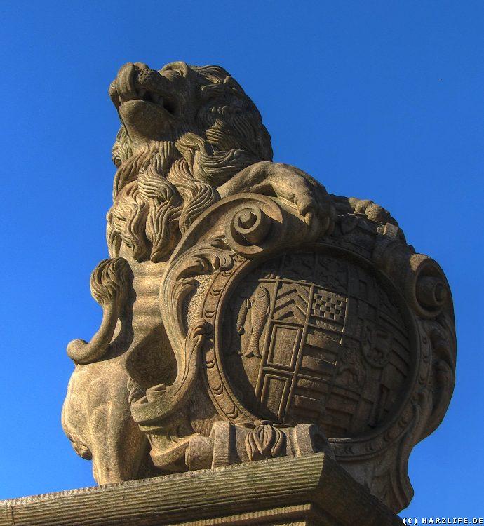 Bilder aus Wernigerode - Das Löwentor am Eingang zum Lustgarten