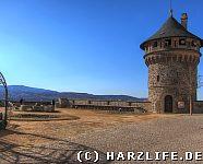 Schloss Wernigerode mit Brocken