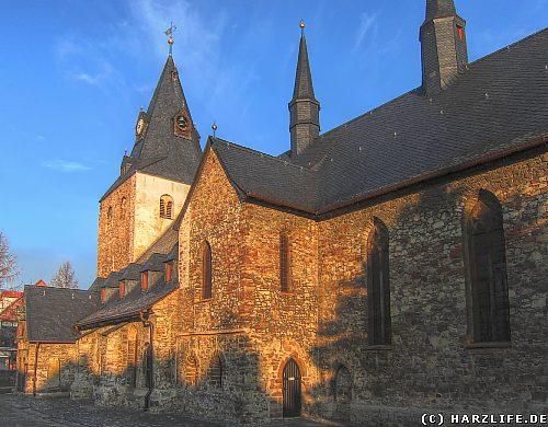 Die St. Johanniskirche in Wernigerode