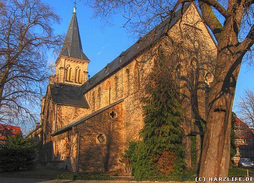 Die St.-Sylvestri-Kirche in Wernigerode