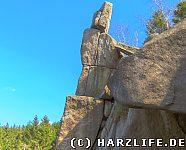 Steinformation an der Feigenbaumklippe