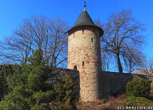 Die Stadtmauer von Wernigerode