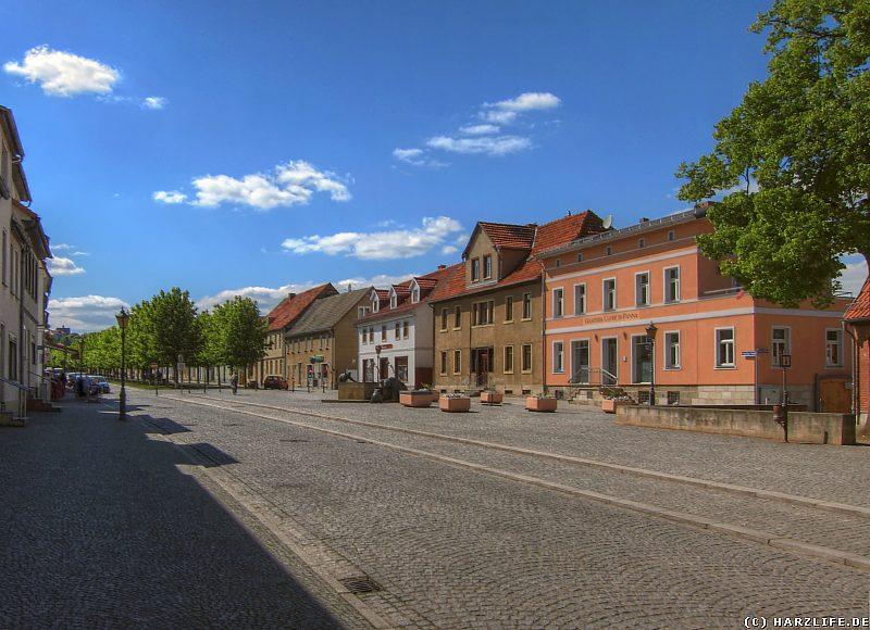 Der Anhaltiner Platz in Ballenstedt