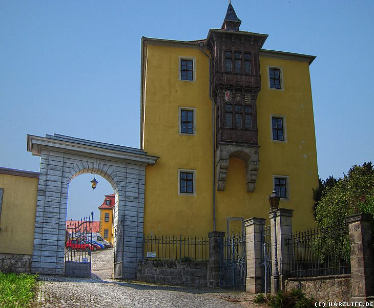 Ballenstedt - Der Nordflügel des Schlosses