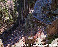 Im Okertal - Blick von der Adlerklippe
