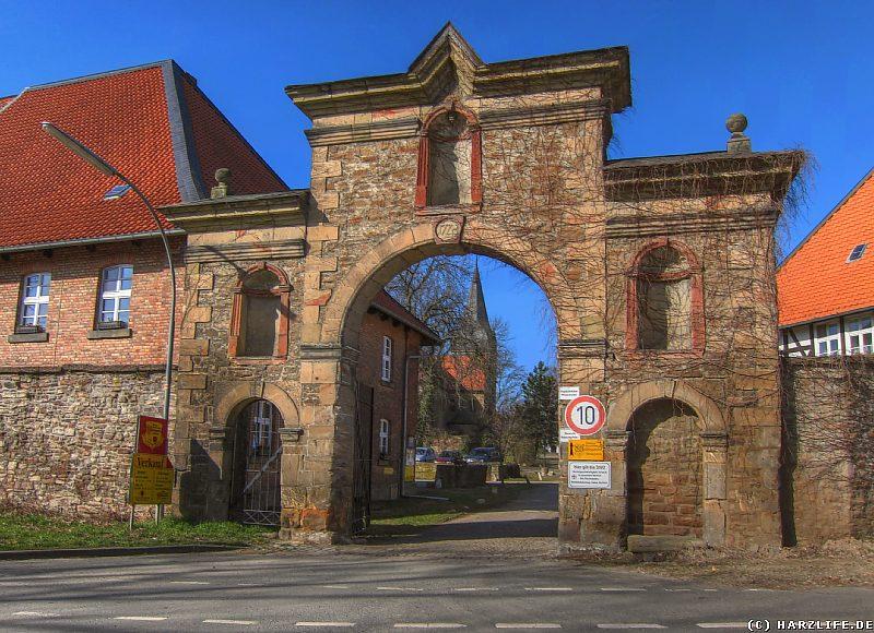Das Eingangsportal des Klosters Wöltingerode
