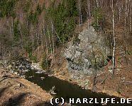 Felsen nahe der Marienwand