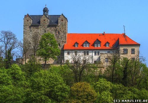 Das Schloß in Ballenstedt