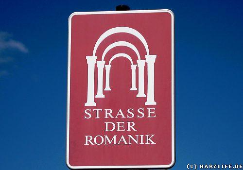 Wegweiser - Straße der Romanik