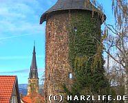 Vorwerkturm und Liebfrauenkirche
