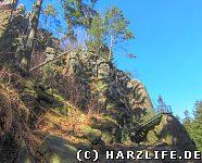 Der Weg zur Adlerklippe