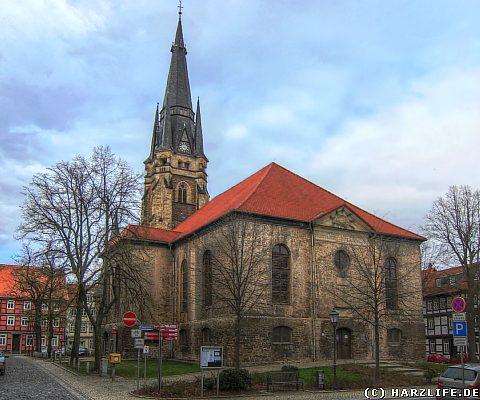 Die Liebfrauenkirche in Wernigerode