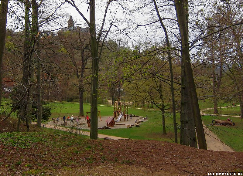 Bilder aus Wernigerode - Der Spielplatz im Lustgarten