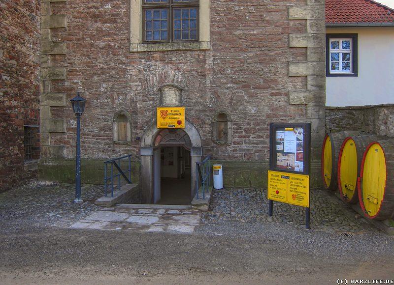 Der sog. Schnapskeller des Klosters Wöltingerode