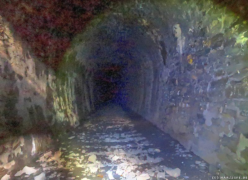 Blick in den Bismarcktunnel (Südseite)