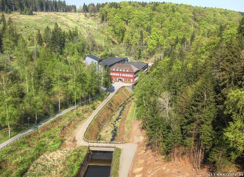 Wasserwerk- und Kraftwerksgebäude