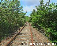 Eisenbahndamm unterhalb der Kuxburg