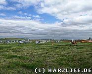 Flugzeuge beim Flugplatzfest