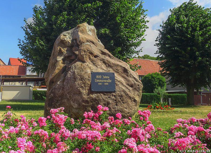 Gedenkstein 800 Jahre Timmenrode