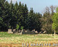 Grundmauern Hirtenhaus